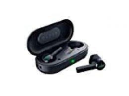 Razer Hammerhead True Wireless Auriculares Bluetooth 5.0, Earbuds Inalámbrico con Conexión de Latencia Baja, Diafragmas Optimizados de 13 mm e Bajos Aumentados, Color Negro