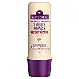 Aussie 3 Minute Miracle Reconstructor Tratamiento Intensivo, Fórmula Reparadora Intensiva Suaviza Y Revitaliza- 250 ml