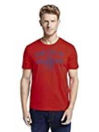 Tom Tailor Logo T-Shirt Camiseta para Hombre