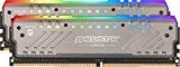 Crucial Ballistix Tactical Tracer BLT2K8G4D30AET4K RGB, 3000 MHz, DDR4, DRAM, Memoria Gamer Kit para ordenadores de sobremesa, 16GB (8GBx2), CL15