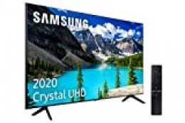 "Samsung Crystal UHD 2020 82TU8005 - Smart TV de 82"" con Resolución 4K, HDR 10+, Crystal Display, Procesador 4K, PurColor, Sonido Inteligente, One Remote Control y Asistentes de Voz Integrados"