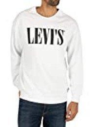 Levi's Relaxed Graphic Crewneck Sudadera para Hombre