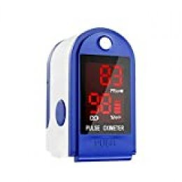 Lechnical Punta del dedo pulso Monitor de saturación Pantalla digital LED 8s Medida rápida Monitor Mini de pulso