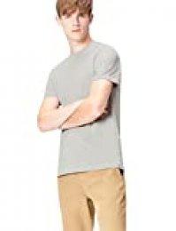 Marca Amazon - find. Camiseta Mensaje para Hombre