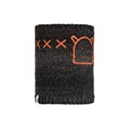 Buff Monster Jolly Calentador Tricot Y Polar Junior, Unisex niños, Black, Talla única