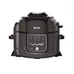 Ninja Foodi [OP300EU] olla a presión y freidora de aire, gris y negro