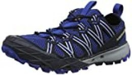 Merrell Choprock, Zapatillas Impermeables para Hombre, Azul (Navy), 47 EU
