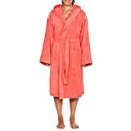 Arena Core Albornoz Unisex Soft Robe, Adultos, Pale/Rose White, XS
