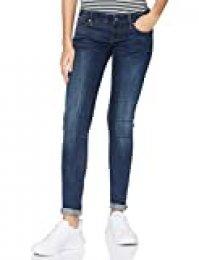 G-STAR RAW 3301 Low Waist Super Skinny Jeans Ajustados, Dark Aged 6553-89, 25W / 30L para Mujer