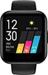 """realme Watch. Smartwatch con Pantalla de 1.4"""" TFT-LCD. Android 5.0+ y Bluetooth 5.0 (10m). Resistencia IP68, Color Negro."""
