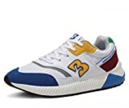 AX BOXING Zapatillas Deporte Hombres Mujer Running Sneakers Zapatos Hombre Vestir Casual Deportivas Padel Transpirables 36-46