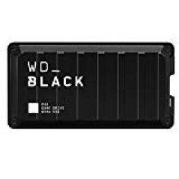 WD Black P50 - Game Drive SSD de 2 TB, excelente Rendimiento para Tus Juegos en Cualquier Parte