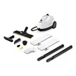 Kärcher SC 2 EasyFix Premium 1 L Negro, Blanco 1500 W-Vaporeta (Limpiador portátil, 2 L, 4 m, IPX4, 2 m, 1 Liter, 18/8 Stainless Steel