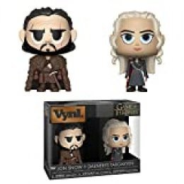 "Funko 34044 VYNL 4"" 2-Pack: Juego de Tronos: Jon & Daenerys, Multi"