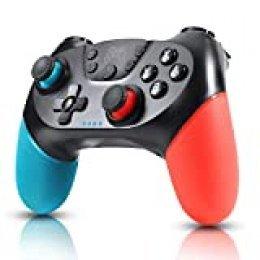 Zexrow Mando para Nintendo Switch, Mando Pro Controller Mando pc Inalambrico con Nintendo Switch