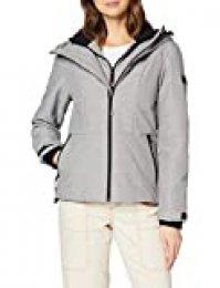 Superdry Aeon Jacket Chaqueta, Gris (Grey 05q), S (Talla del Fabricante:10) para Mujer