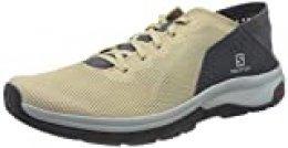 Salomon Tech Lite, Zapatillas de Senderismo acuáticas para Hombre, Beige (Safari/Vanilla Ice/Ebony), 44 2/3 EU