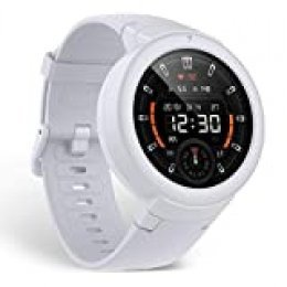Amazfit Verge Lite - Reloj inteligente de Fitness color blanco