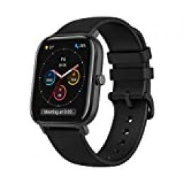Amazfit GTS Smartwatch Fitness tracker con multitud de perfiles de actividad físcia y con GPS embebido, resistencia al agua 5 ATM (Negro)