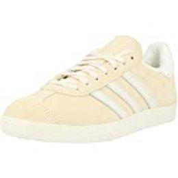 adidas Gazelle, Zapatillas para Hombre, Ecru Tint S18/Chalk White/FTWR White, 39 1/3 EU