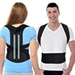 SYOSIN Corrección de Postura, Entrenador de Postura, Entrenador de Espalda, fijador de Espalda Recta, Postura para Corregir el Soporte del Hombro Trasero