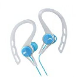 JVC HA-ECX20-A Azul Intraaural Dentro de oído Auricular - Auriculares (Intraaural, Dentro de oído, Alámbrico, 10-23000 Hz, 1,2 m, Azul)