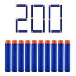 Riuty Dardos de Espuma Recargue Dardos de Espuma para balastros de la Serie Elite de N-Strike de 200 Balas