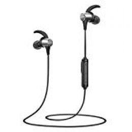Anker Soundcore Spirit Pro Intraaural Dentro de oído Negro, Gris - Auriculares (Intraaural, Dentro de oído, Inalámbrico, Bluetooth, 17 g, Negro, Gris)