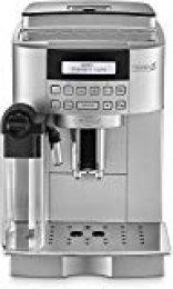 De'longhi Magnifica S Ecam 22.360.s - Cafetera superautomática, 15 bar de presión, lattecrema system, limpieza automática, pantalla lcd, color plata