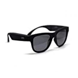 LUPPO Gafas de Sol Polarizadas con Auriculares Bluetooth de Conducción ósea Auriculares Inalámbricas SmartTouch Stereo Music Auriculares con Micrófono Negro.