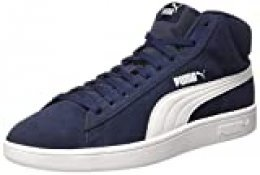 PUMA Smash V2 Mid SD, Zapatillas Altas Unisex Adulto