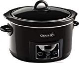 Crock-Pot SCCPRC507B-050 - Olla de cocción lenta digital de 4.7 L, color negro