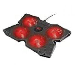 Trust Gaming GXT 278 - Soporte de refrigeración para portátiles Gaming, Negro