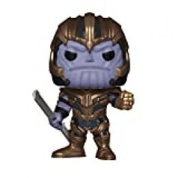 Funko- Pop Bobble: Avengers Endgame: Thanos Marvel Collectible Figure, Multicolor, Estándar (36672)