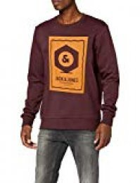JACK & JONES Jcoknown Sweat Crew Neck Sudadera para Hombre