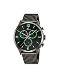 Lotus Reloj Cronógrafo para Hombre de Cuarzo con Correa en Acero Inoxidable 18650/2
