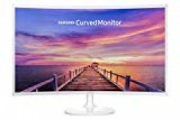 "Samsung C32F391FWU - Monitor para PC Desktop,  Full HD, 1920 x 1080 Pixeles, LED, 4 ms, 250 cd / m², Blanco, 81,3 cm (32"")"