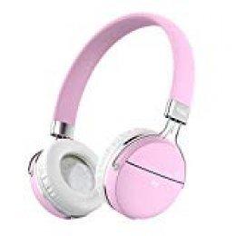 Auriculares Bluetooth, Tribit XFree Move Auriculares estéreo inalámbricos con micrófono, 14 horas de funcionamiento, soporta conexión 3.5mm Aux con micrófono y Audio Cable para Movil, PC, Tablet