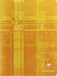 Clairefontaine 3793C - Lote de 25 Cuadernos grapados CLAIRENFANTINE A5 MAXI rayado francés (Séyès 3mm I) de 32 páginas, colores surtidos