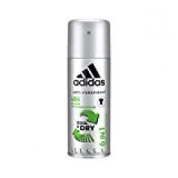 Desodorante corporal Adipure para hombre, 6 unidades (150 ml).