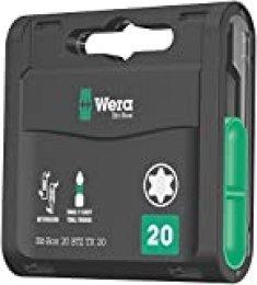 Wera 05057771001 Puntas, 0 W, 0 V, 20 x 25 mm, Set de 20 Piezas