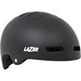 Lazer LZ Armor Casco Ciclismo Unisex Adulto, Mate(Negro), M