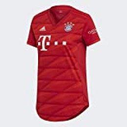 adidas H JSY W Camiseta, Mujer, Rojo (FCB True Red), 2XL