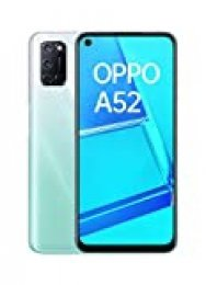 """OPPO A52 - Smartphone de 6.5"""" FHD+, 4GB/64GB, Octa-core, cámara trasera 12 + 8 + 2 + 2 MP, cámara frontal 8 MP, 5.000 mAh, Android 10, color Blanco + Micro SD 64GBs"""
