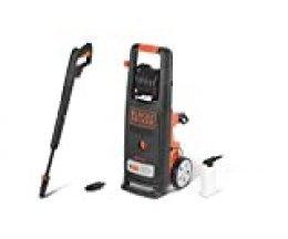 Black+Decker BXPW2200E Hidrolimpiadora de Alta presión, 2200 W, Naranja y Negro
