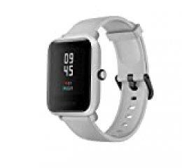 Amazfit Bip S Smartwatch 5ATM GPS GLONASS -Reloj inteligente con bluetooth y conectividad con Android e iOS - Version Global (Blanco)