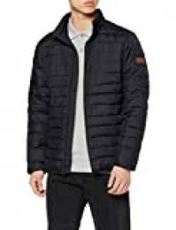 Quiksilver Scaly-Quilted Chaqueta Acolchada, Hombre, Negro (Black), XL