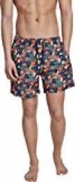Urban Classics PatternSwim Shorts Bañador para Hombre