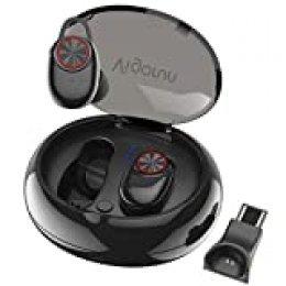 Auriculares Bluetooth Inalámbricos Vigorun Mini In-Ear Auriculares Sonido Estéreo Auricular Deportivos IP65 Impermeable Auto-emparejamiento para iOS y Android