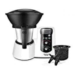 Taurus Mycook Robot de Cocina, 1600 W, 2 litros, Plástico|Acero Inoxidable, 10 Velocidades, Negro